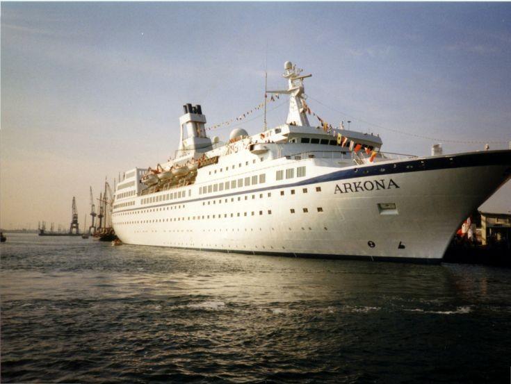 Cruise ship Arkona