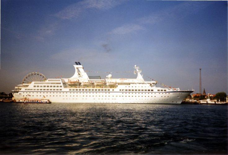 Cruise ship Arkona in 1999