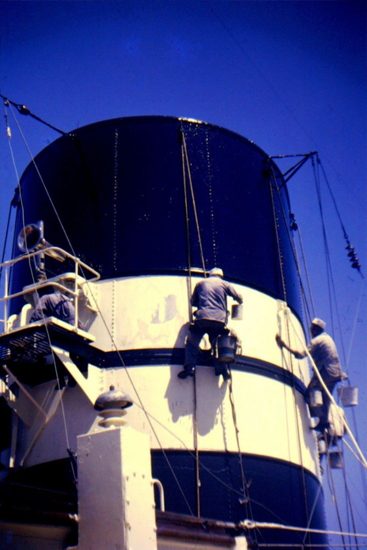 Maintenance on 'Devonia's' funnel