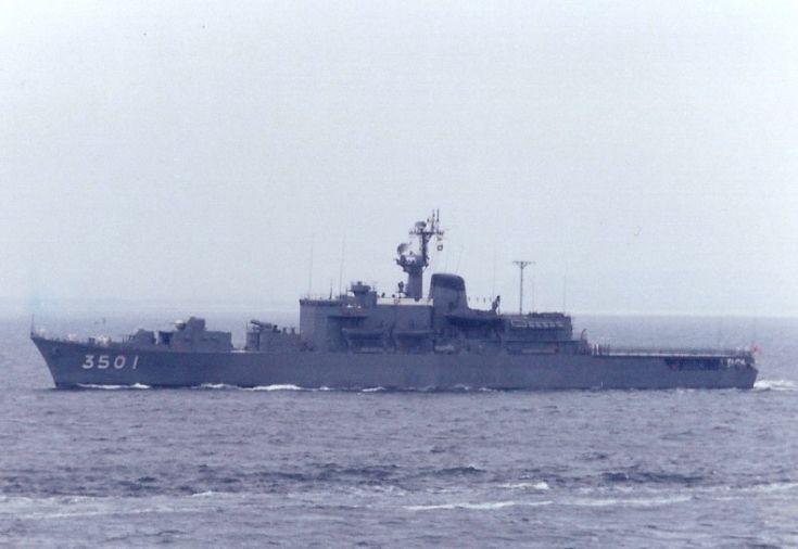 JMSDF training ship 'Katori