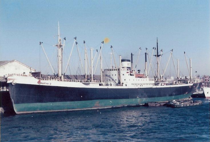 Panamanian cargo ship 'Martha D' of 1951