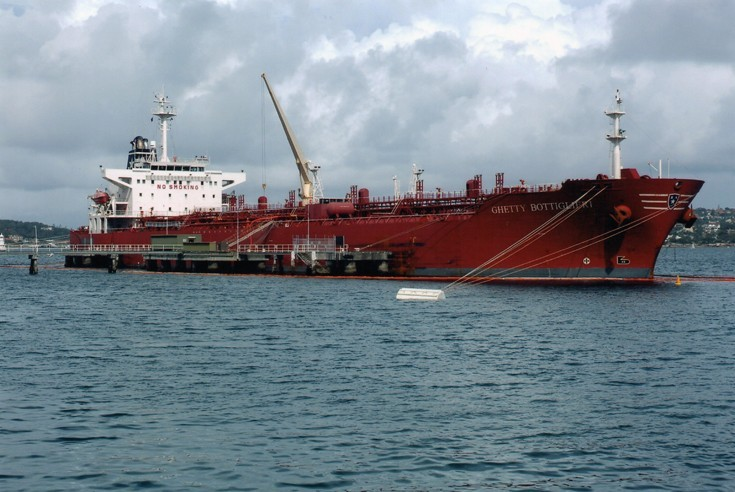 Tanker Ghetty Bottiglieri at Sydney