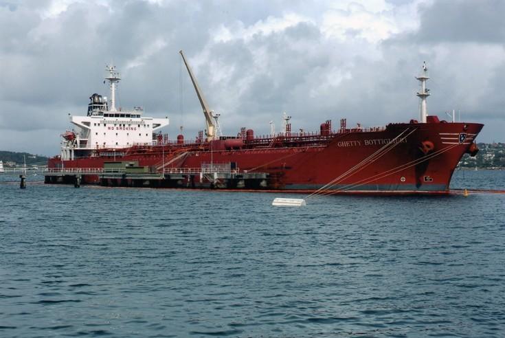 Tanker Ghetty Bottiglieri at Sydney