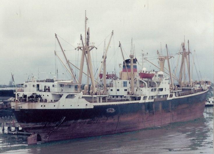 Indian cargo ship 'Mahabir' of 1962
