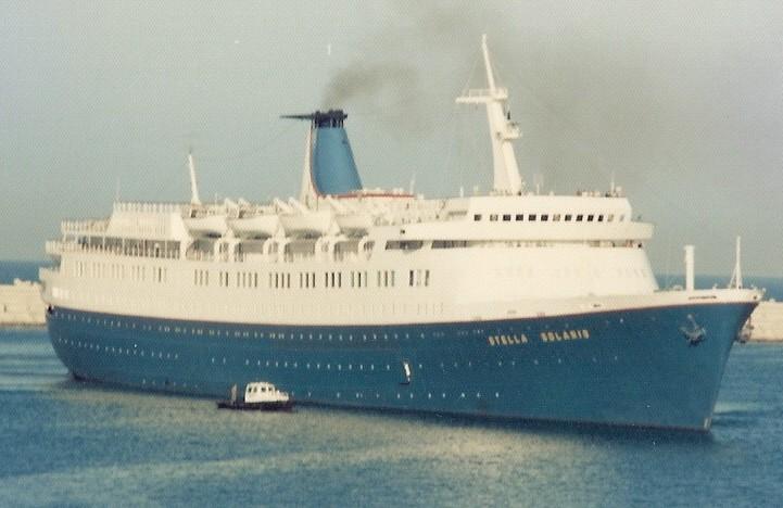 Greek cruise ship 'Stella Solaris' of 1953