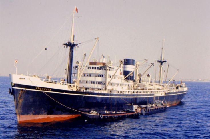 British cargo ship 'Chakrata' (3)