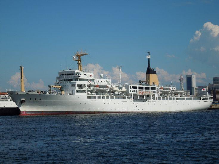 Japanese training ship 'Seiun Maru' of 1997