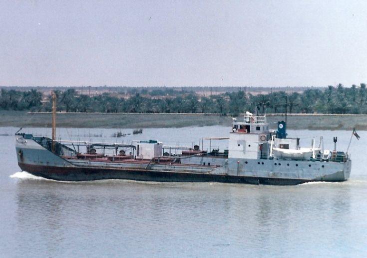 Iranian coastal tanker 'Kambiz' of 1944