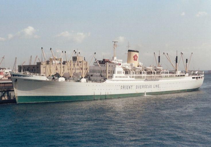 Liberian ship 'Oriental Carnival' of 1949