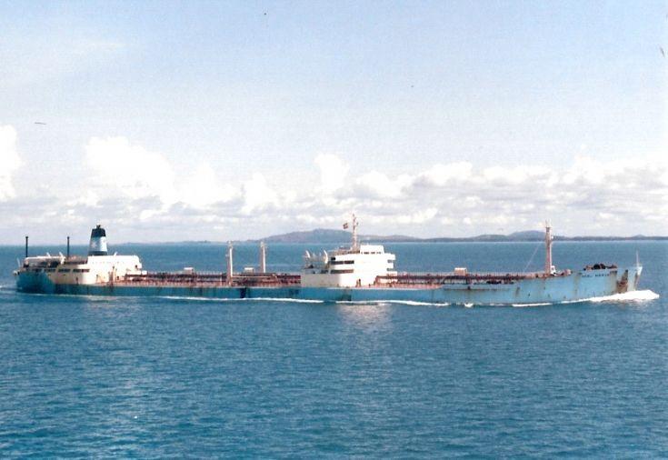 Danish tanker 'Gerd Mærsk' of 1963