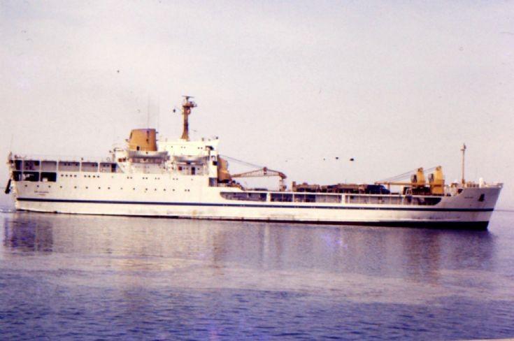 British LSL 'Sir Galahad' of 1966 (1)