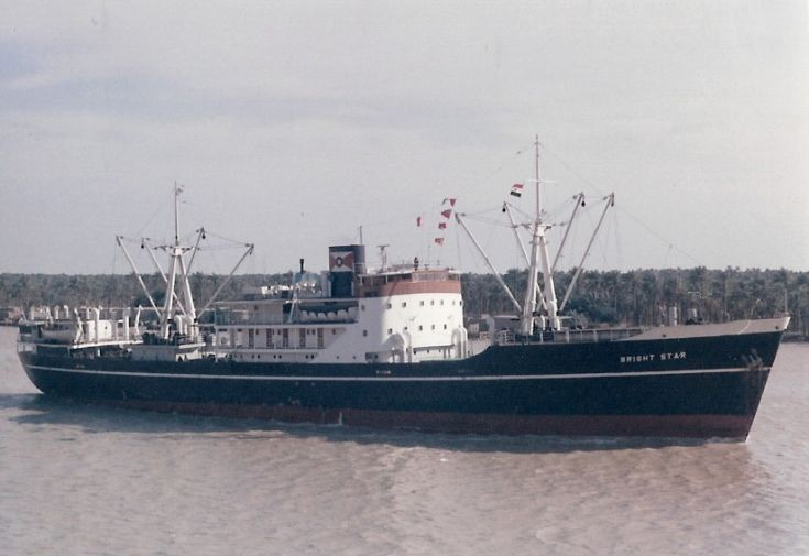 Panamanian cargo ship 'Bright Star' of 1949