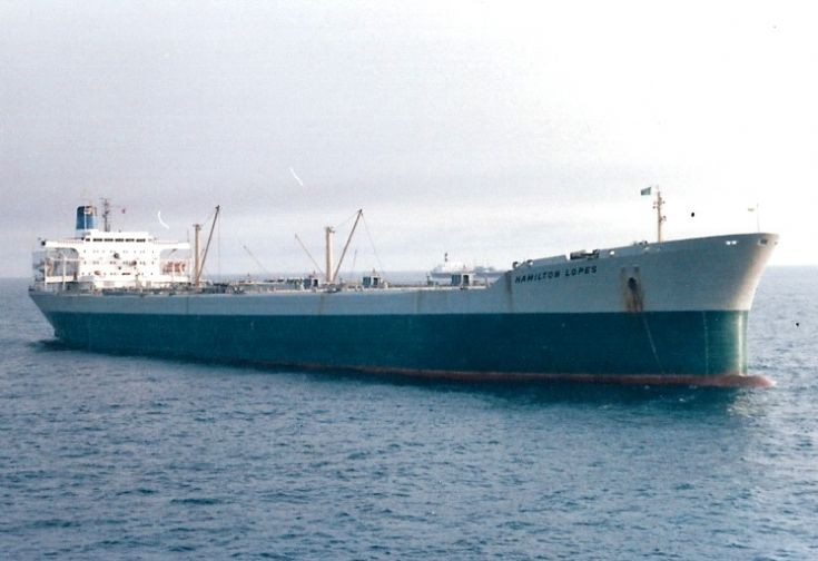 Brazilian tanker 'Hamilton Lopes' of 1969