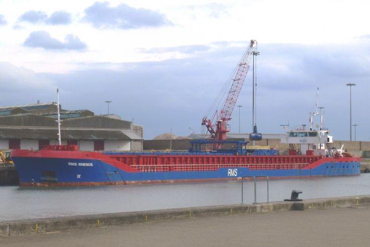 RMS Rhenus   Gt.Yarmouth    9/10/2013
