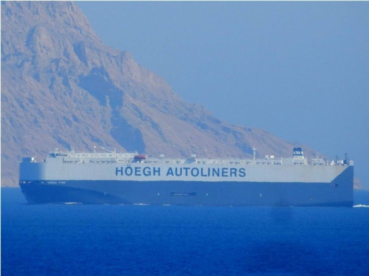 Hoegh Kobe - Egypt