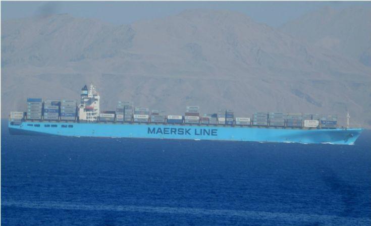 Maersk Kiel - Egypt