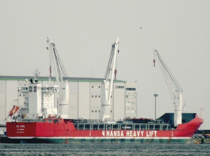 Antiguan cargo ship 'HHL Kobe'
