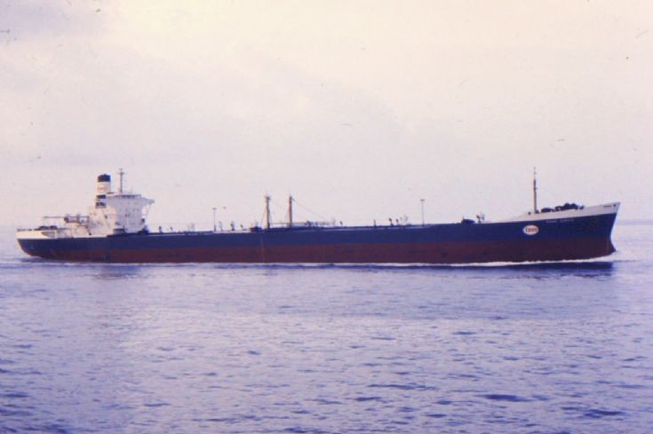Panamanian tanker 'Esso Zurich' of 1965