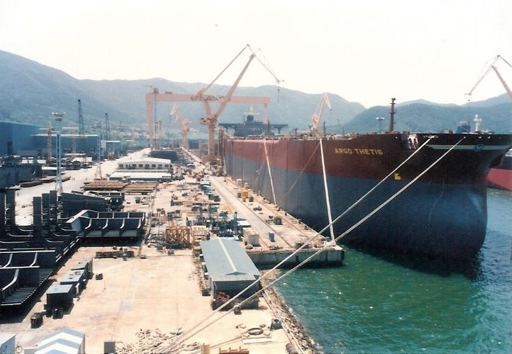 'Argo Thetis' under construction