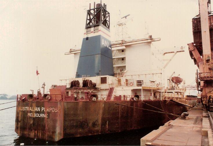 Australian bulker 'Australian Purpose' of 1977