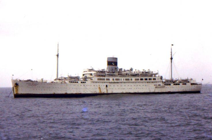 Pakistani passenger ship 'Safina-e-Hujjaj'