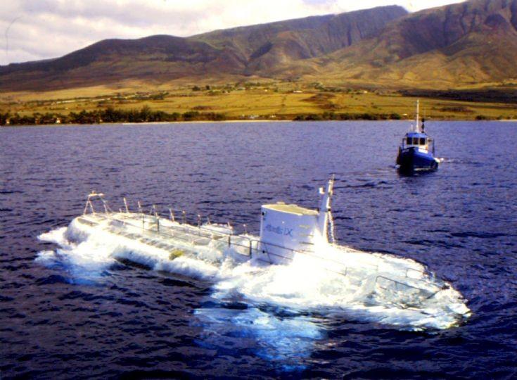 Tour submarine 'Atlantis IX'