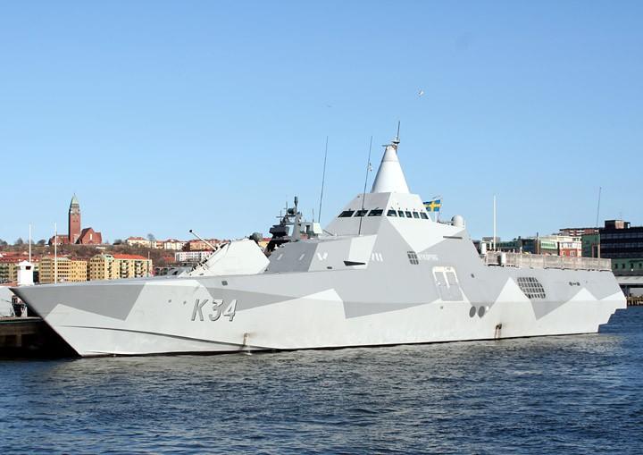 HSwMS Nyköping K34, Visby Class Corvette