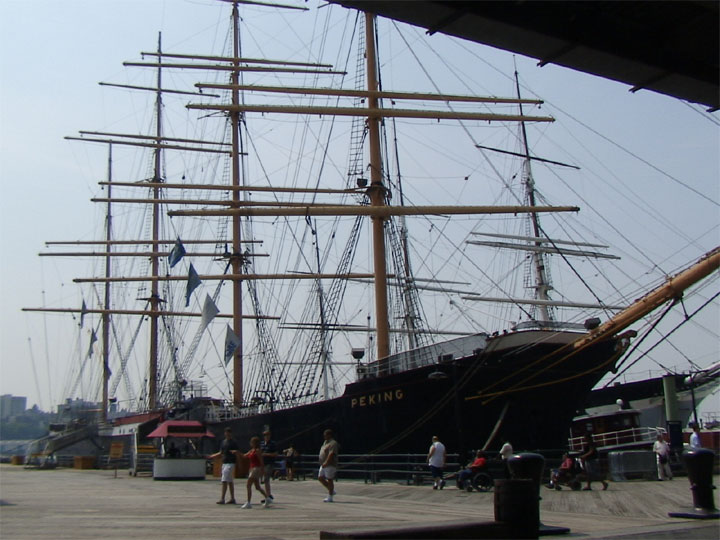 Tall Ship Peking at South Pier Seaport