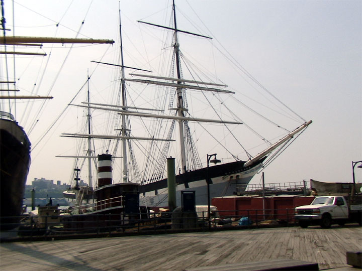 Tall Ship Wavertree at South Pier Seaport