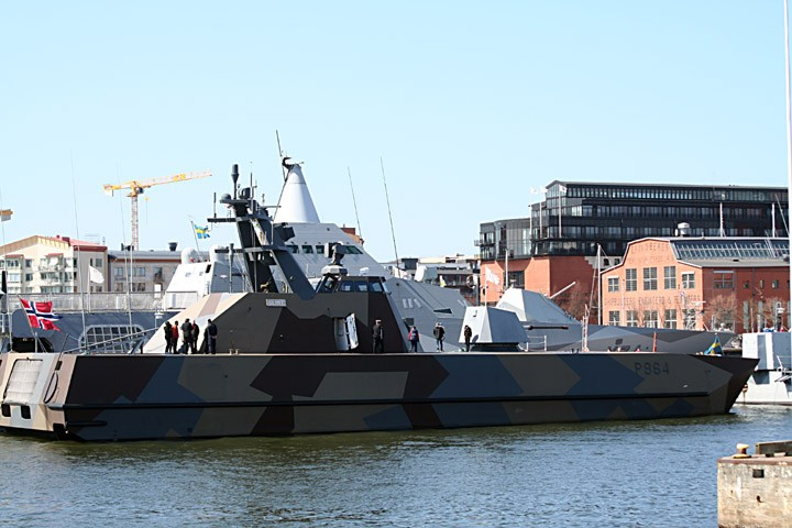 Royal Norwegian Navy Glimt at Eriksberg
