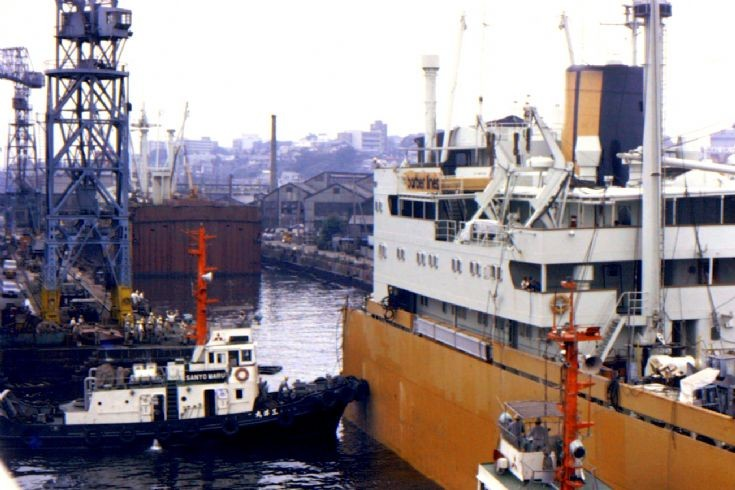 Norwegian cargo ship 'Tai Ping' of 1958 (2)