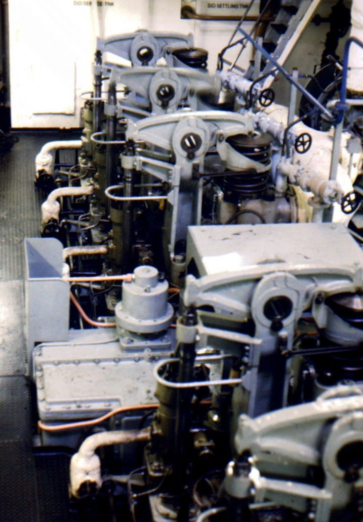 'Amra's' main engine