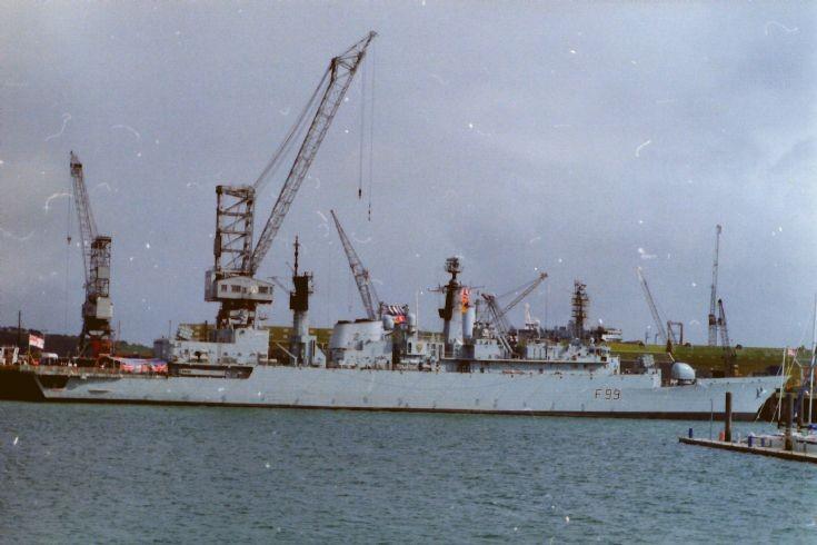 HMS Cornwall F99
