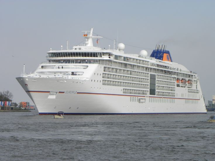 Cruiseships in Amsterdam