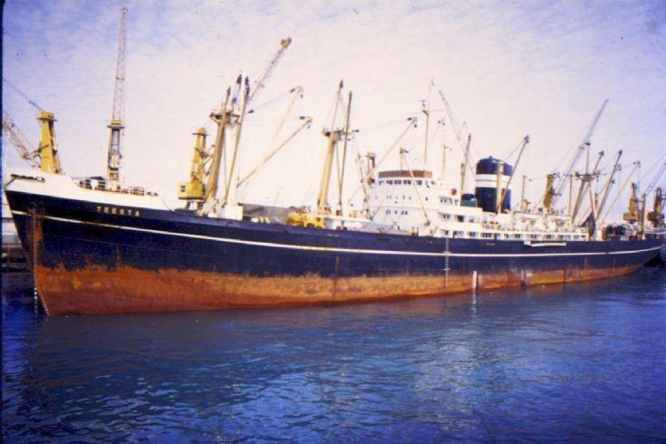 British cargo ship 'Teesta' of 1956 (1)