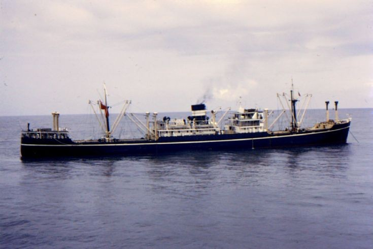 British cargo ship 'Ozarda' of 1940