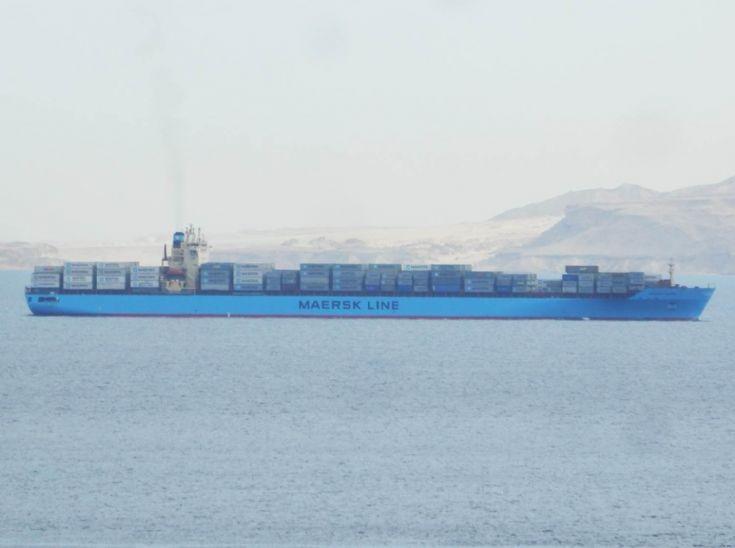 Maersk Idaho - Egypt