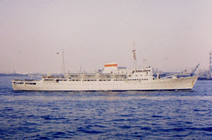 Soviet passenger ship 'Khabarovsk' of 1962