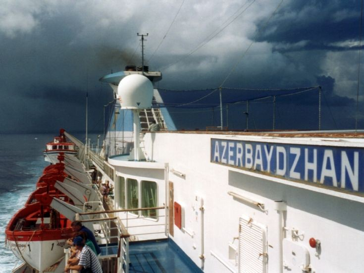 AZERBAYDZHAN storm coming