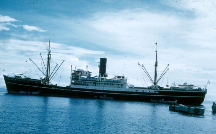 SINKIANG Steel Motor Vessel ca 1950s