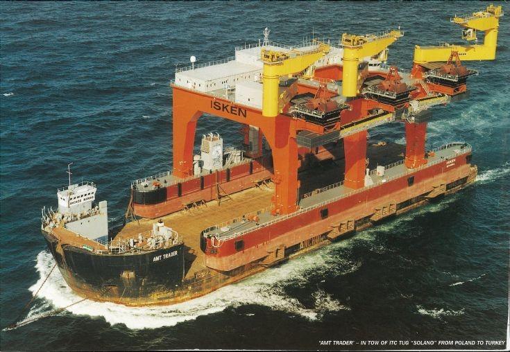 AMT Trader delivering Isken