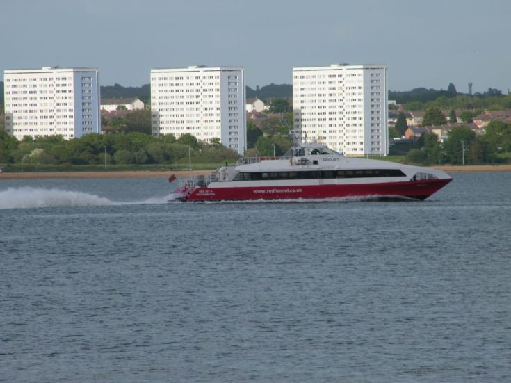 Red Funnel Catamaran