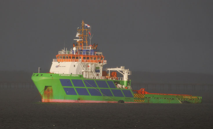 Multi purpose vessel Fairmount Sherpa