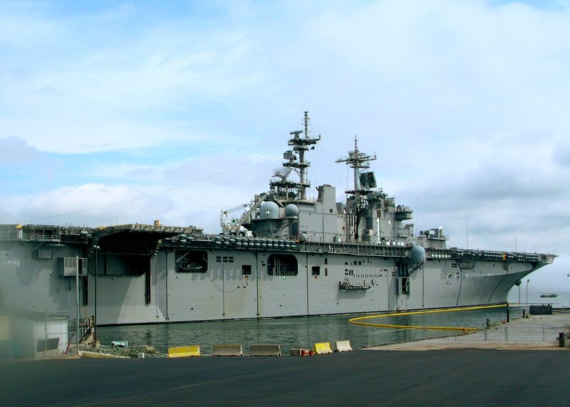Picture of USS Wasp LHD-1 at Halifax