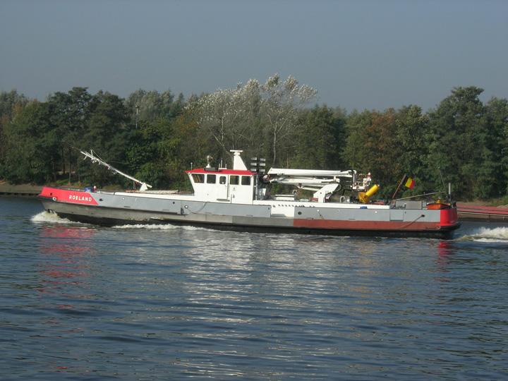 Fire boat Gent Belgium
