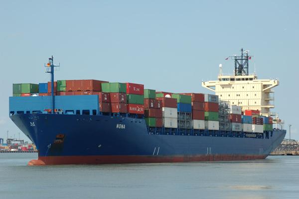 Feeder container ship NONA