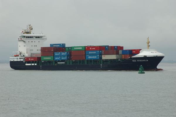 Container ship VEGA STOCKHOLM