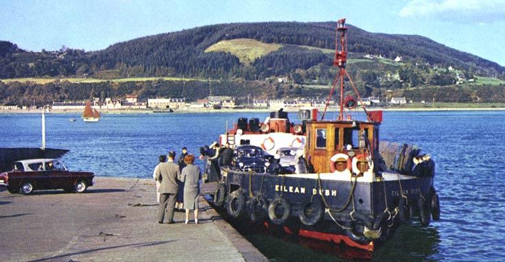 Eilean Dubh Ferry, Inverness
