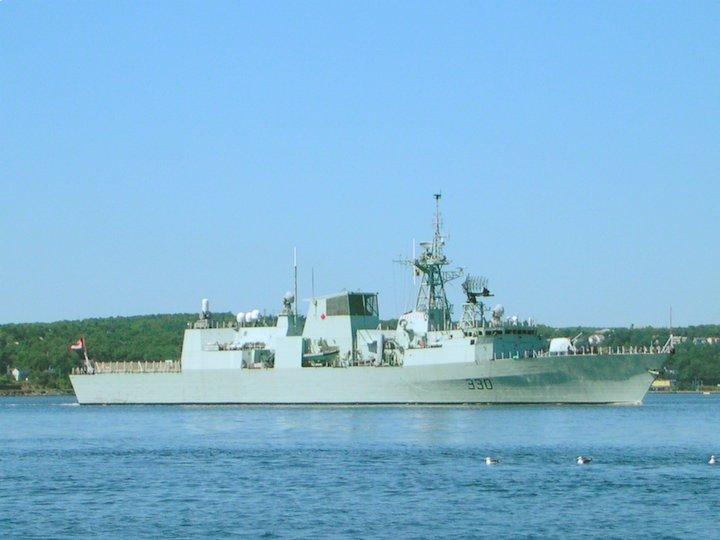 Frigate HMCS Halifax FFH330, Halifax, Nova Scotia