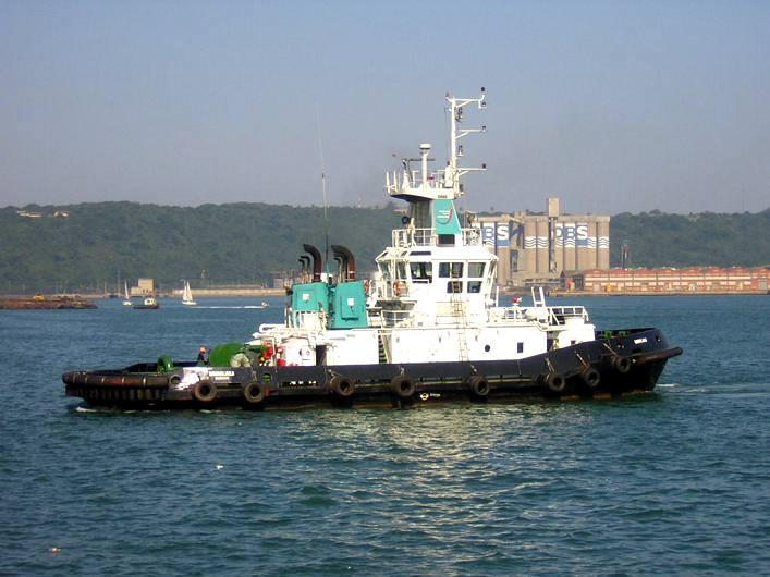Durban harbour tug